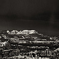 Bryce Canyon Formations In Black And White by Dave Welling