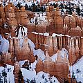 Bryce Canyon In Winter 2 by Bob Christopher