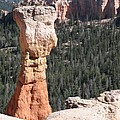 Interesting Bryce Canyon Rockformation by Christiane Schulze Art And Photography
