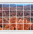 Bryce Canyon White Picture Window View by James BO Insogna