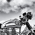 Bsa Rocket Gold Star Monochrome by Tim Gainey