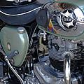 Bsa Motorcycle by Terri Waters