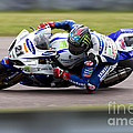 Bsb Superbike Rider John Hopkins by Andrew Harker