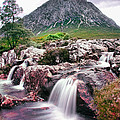 Buachaille Etive by Les McLuckie