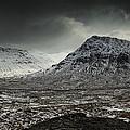 Buachialle Etive Mor Winter Mood by Nigel Forster