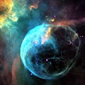 Bubble Nebula by Nasa/esa/hubble Heritage Team (stsci/aura)/science Photo Library