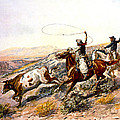 Buccaroos by Charles Russell