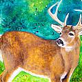 Buck Deer by Debora Baxter Jackson