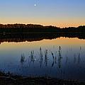 Buck Lake Moonrise by Dale Kauzlaric