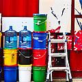 Buckets Of Color by Karol Livote