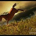 Bucking Horse by Blake Richards