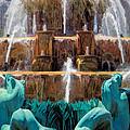 Buckingham Fountain Closeup by Christopher Arndt