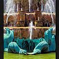 Buckingham Fountain Closeup Poster by Christopher Arndt