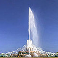 Buckingham Fountain Panorama by Christopher Arndt