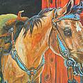 Buckskin Filly by Jenn Cunningham