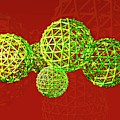 Buckyball Molecules by Victor Habbick Visions