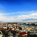 Budapest And Blue Danube by Elvis Vaughn