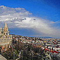 Budapest And Fisherman's Bastion by Elvis Vaughn