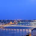 Budapest At Dusk by Artur Bogacki