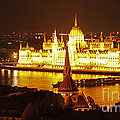 Budapest At Night by Gregory Dyer