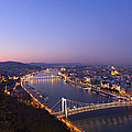 Budapest At Night by Ioan Panaite