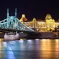 Budapest Night Bridge by Ioan Panaite
