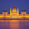 Budapest Parliament At Night by Ioan Panaite