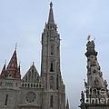 Budapest Spires by Deborah Smolinske