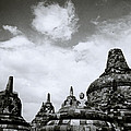 Buddha And Stupas by Shaun Higson