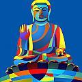 Buddha Blue by Randall Henrie
