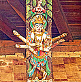Buddha Image In Patan Durbar Square In Lalitpur-nepal   by Ruth Hager