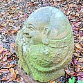 Buddha Looking Left by James Potts