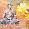 Buddha Of Compassion by Diana Haronis