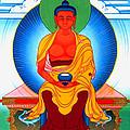Buddha Of Infinite Light 39 by Jeelan Clark