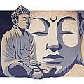 buddha by Sassan Filsoof