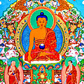 Buddha Shakyamuni 1 by Jeelan Clark