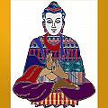 Buddha Spirit Humanity Buy Faa Print Products Or Down Load For Self Printing Navin Joshi Rights Mana by Navin Joshi