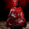 Buddha Statue Figurine by Olivier Le Queinec