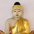 Buddha Statue In Thailand Temple Altar by Jit Lim