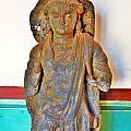 Ancient Buddha Statue - Albert Hall - Jaipur India by Kim Bemis