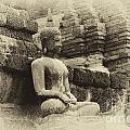 Buddha Sukhothai Thailand 5 by Bob Christopher