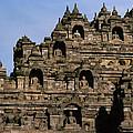 Buddhas Of Borobudur by Shaun Higson