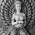 Buddhist Carving 02 by Antony McAulay