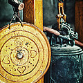 Buddhist Gong by Skip Nall
