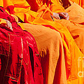 Buddhist Monks 04 by Rick Piper Photography