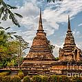 Buddhist Park by Adrian Evans