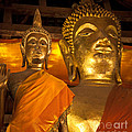 Buddhist Statues D - Photography By Jo Ann Tomaselli by Jo Ann Tomaselli