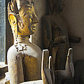 Buddhist Statues F - Photography By Jo Ann Tomaselli by Jo Ann Tomaselli