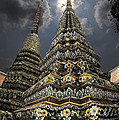 Buddhist Temple In Bangkok Thailand Buddhism Wat Po by Dray Van Beeck