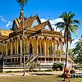 Buddhist Temple In Kratje - Cambodia by Luciano Mortula